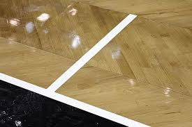 Wooden Horse Race Game Pattern Best The Brooklyn Nets Reveal Their New Herringbonepatterned Home Court