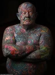 австралиец забил татуировками все тело Niblerru мой маленький