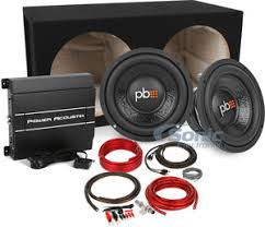 power acoustik rep d amp powerbass m series subs w complete powerbass power acoustik bass package w amp subs box wire