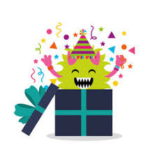 Lil Monster Birthday Invitations Little Monsters Birthday Invitation Vector Images 84