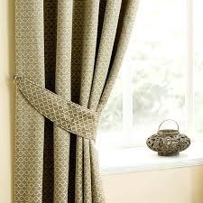 Black Patterned Curtains Cool Design
