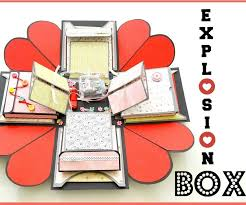 how to make an explosion box diy paper crafts exploding wedding gift 11 steps with pictures