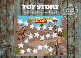 Printable Potty Training Chart Toy Story Potty Train Printable Chart Toy Story Reward Chart Printable Potty Training Chart Potty Time