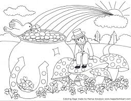 Free Printable Saint Patrick Coloring Pages Www