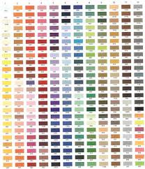 Embroidery thread conversion charts help you find corresponding color numbers from manufacturers. Free Thread Color Charts