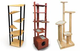 cool cat tree furniture. Contemporary Cat Tower Banish The Ugly Beige Carpet Check Out These Cool Trees Catster Tree Furniture