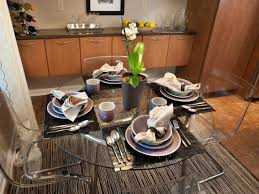 the pain of placemats for round gl table home design
