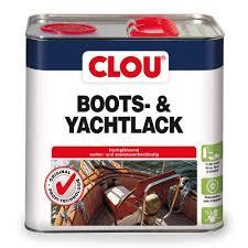 Clou Boots- & Yachtlack 0,750 L: Amazon.De: Baumarkt