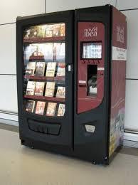 Used Book Vending Machine Classy A Brief History Of Book Vending Machines Books Pinterest
