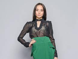 <b>Прозрачная блузка</b>: создаем стильный лук | Мода от Кутюр.Ru