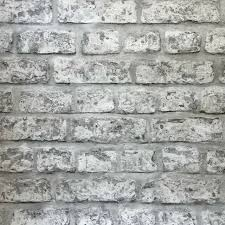 arthouse rustic brick wall grey stone