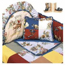 rodeo western themed baby bedding set standard per by california kids