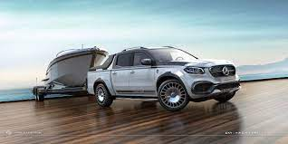 Prices will likely exceed €100,000. Mercedes Benz X Class Yachting By Carlex Design