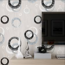 Aliexpress.com : Buy Modern Luxury Circle Design Wallpaper 3D Stereoscopic  Mural Wallpapers Non woven