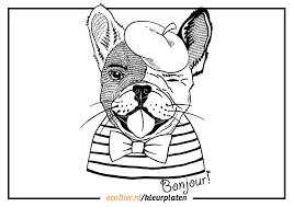 Kleurplaat Hond Download Gratis Honden Kleurplaten Op Eendiernl