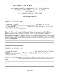 printable doctors note for work doctors note template