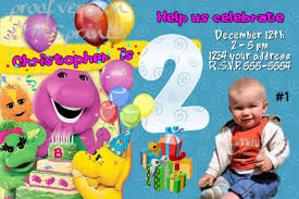 barney party invitation template barney party invitations oxsvitation com