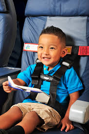 restrains your toddler on a plane prevents him from kicking the seat in front of
