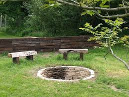 rustic fire pit. Fire Pit Seating Area Ideas Rustic Table Images Backyard On P
