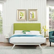 Modway Furniture Tracy 3 Piece Queen Bedroom Set In White Green Mod ...