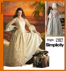 Simplicity Patterns Costumes Inspiration 48th Century Costume Pattern [48] £4848 habithatcouk sewing