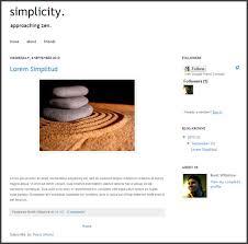 Simple Blog Templates Diy Super Simple Blogger Template