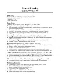 Resume Entry Level New Grad