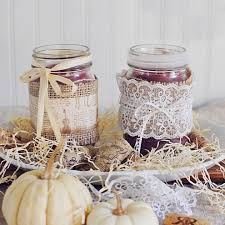 Decorative Jars Ideas Top 100 Mason Jar Ideas Jar Homemade Candles And Burlap 12