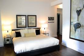 wood floor small bedroom. simple modern apartment bedroom ideas with varnish wooden floor in black wood small