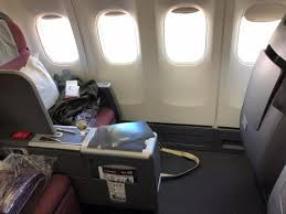 Qantas Boeing 744 Jet Seating Chart Seat 2a Business Class Qantas Boeing 747 400 Picture Of