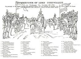 Image result for 1781 cornwallis surrenders at yorktown