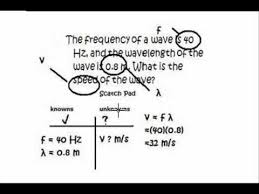 physics tutorial how to solve a physics problem wave velocity physics tutorial how to solve a physics problem wave velocity