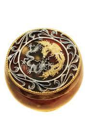 "Шкатулка ""<b>Дракон</b> и Феникс"", <b>янтарь</b>, бронза купить в интернет ..."