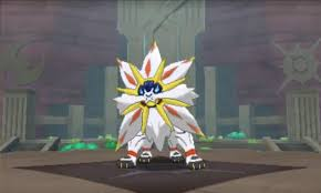 Image result for pokemon sun and moon solgaleo