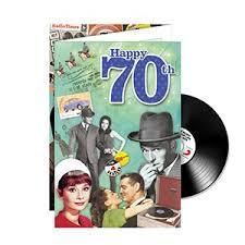 great for their big 70th birthdayhappy
