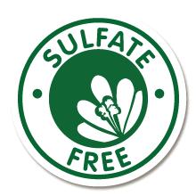 sulfate sulp free logo
