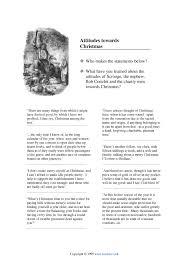 attitudes towards christmas a christmas carol by charles dickens attitudes towards christmas a christmas carol by charles dickens home page