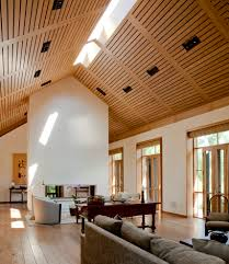 Wooden Ceilings wooden ceilings with armchair living room contemporary and 7383 by guidejewelry.us