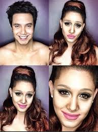 makeup artist pletely transforms himself into female celebrities boston