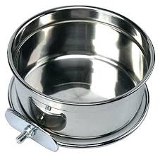 heated water dish crate bowl hanging food durable travel home stainless steel cage coop dog for . Heated Water Dish Oz Canada \u2013 Hermine