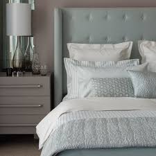 duck egg blue and white striped bedding bedding designs