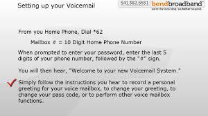 Setup Use Voicemail Youtube