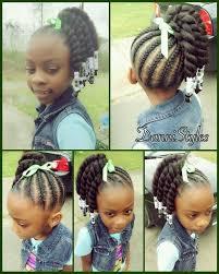 Toddler Girl Hairstyles 32 Stunning Black Children Ponytail Hairstyles Pin By C R On Little Black Girls