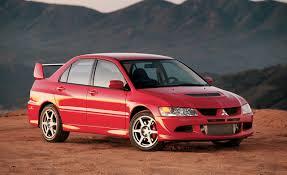 2003 Mitsubishi Lancer Evolution Road Test – Review – Car and Driver