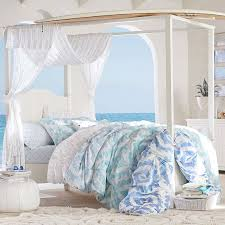 Canopy Bedding Cover Brilliant Beadboard Bed Trundle PBteen For 12 ...