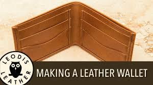 Leather Wallet Pattern Free