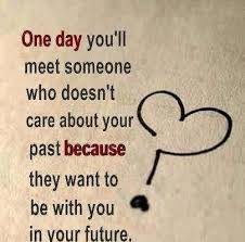 Love Quote One day you'll meet someone who doesn't... via Relatably.com