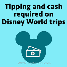 Tipping Chart Usa Tipping And Cash Needed On Disney World Trips Prep096