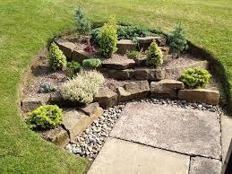 rockery in the garden