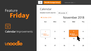 Easily Manage Events And Deadlines Using Moodles Calendar
